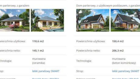 Projekty domów ze stropami panelowymi